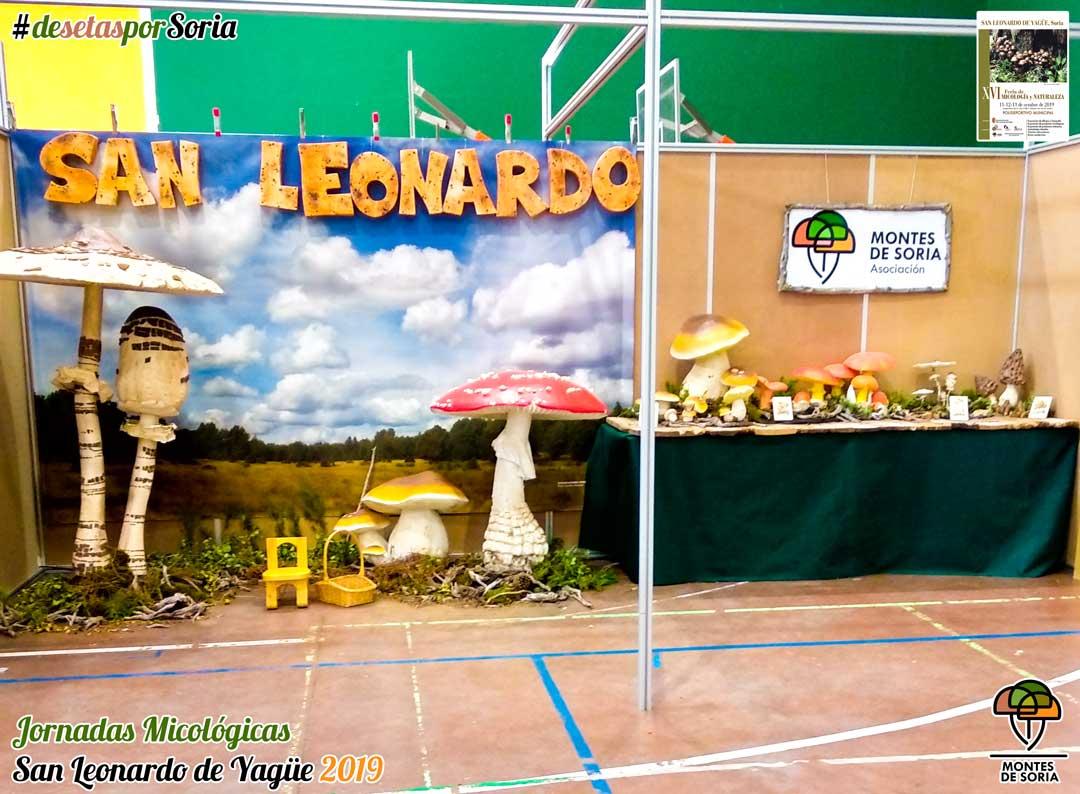 Jornadas Micológicas San Leonardo de Yagüe 2019 photocall