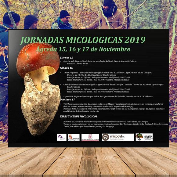 Jornadas Micológicas Ágreda 2019