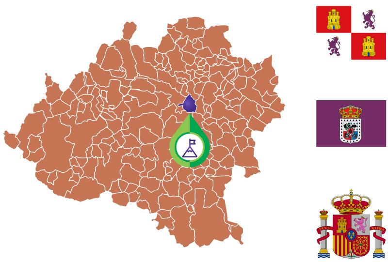 Alconaba Mapa