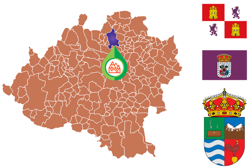 Almarza Mapa