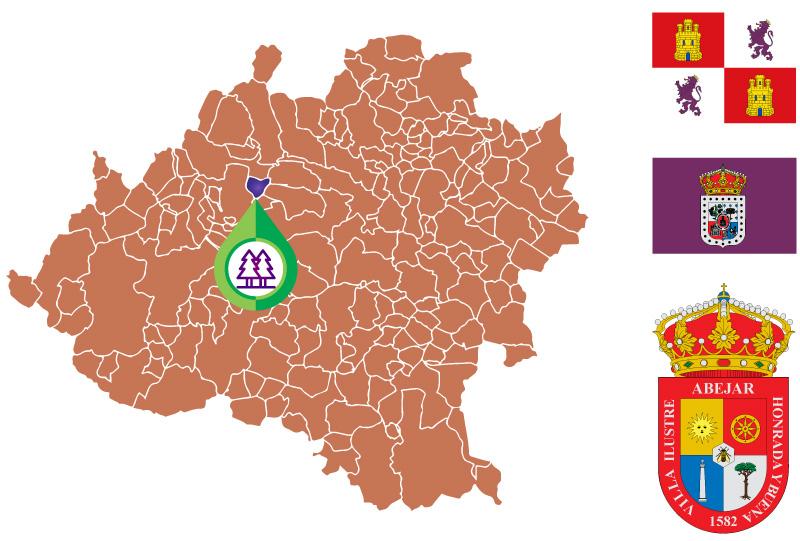 Abejar Mapa