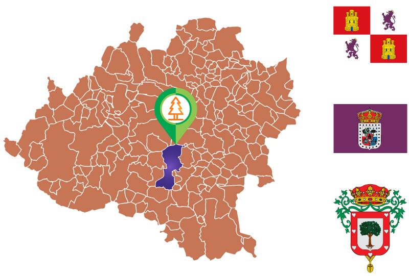 Almazán Mapa