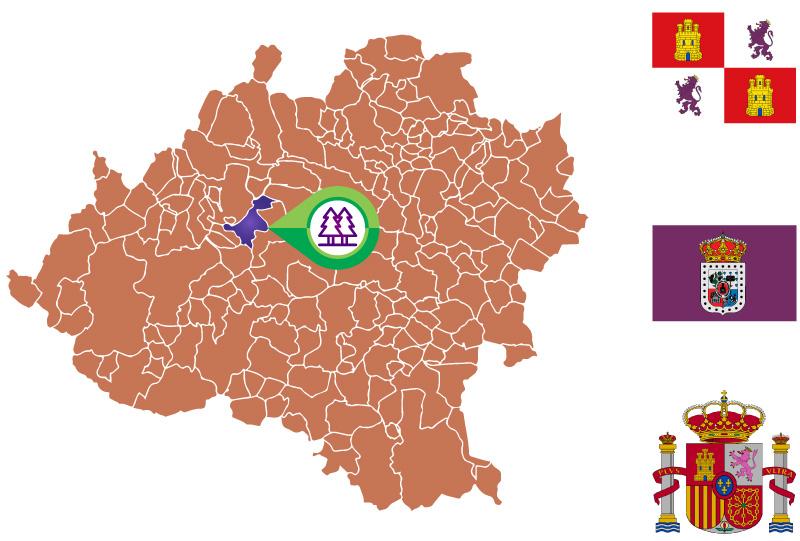 Calatañazor Mapa