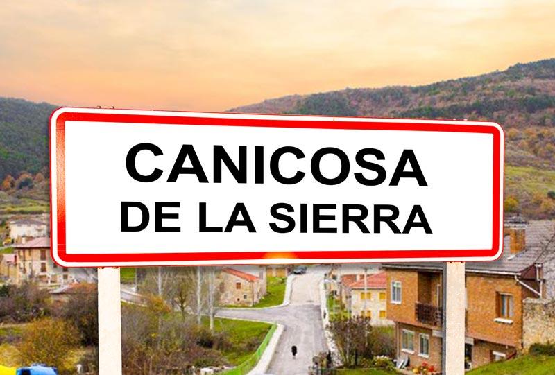 Canicosa de la Sierra Señal