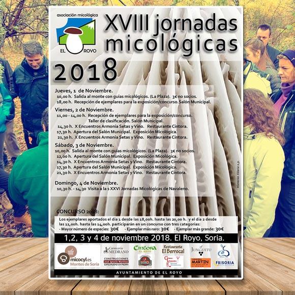 El Royo Jornadas micológicas 2018