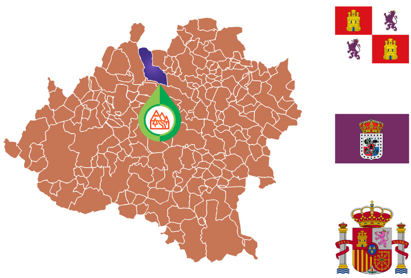 El Royo Mapa