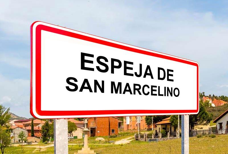Espeja de San Marcelino señal