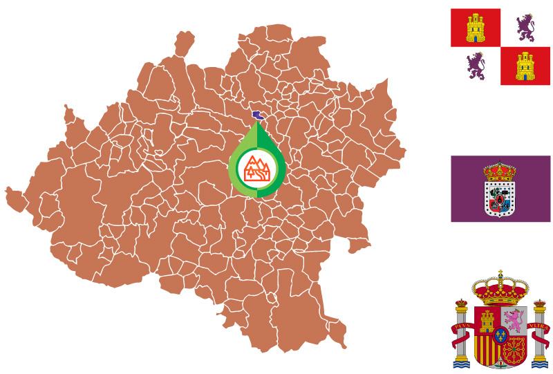 Fuentecantos Mapa