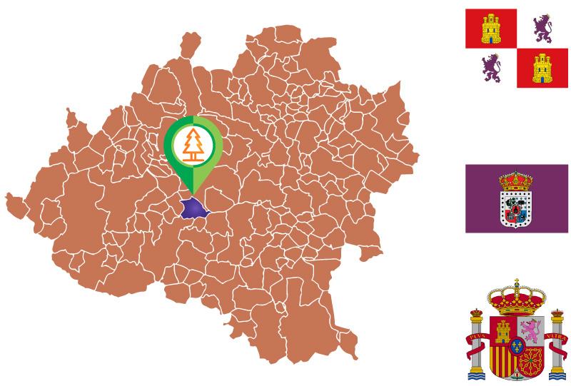Fuentepinilla Mapa