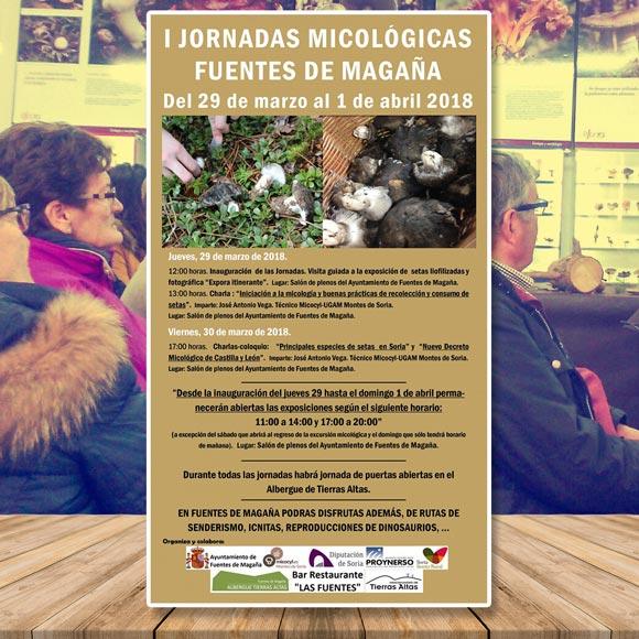 Fuentes de Magaña Jornadas Micológicas 2018