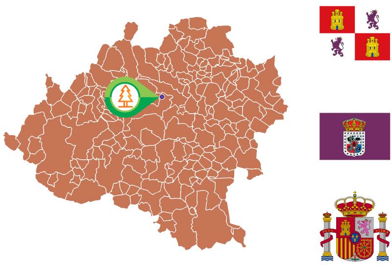 Fuentetoba Mapa