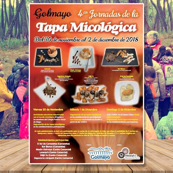 Jornadas Micológicas Golmayo 2018