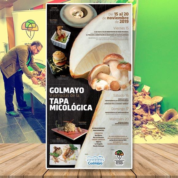 Jornadas Micológicas Golmayo 2019 portada