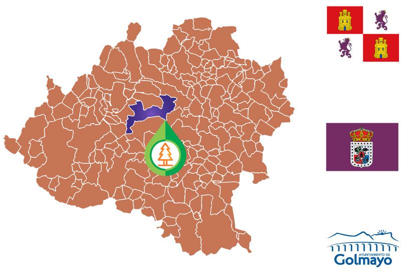 Golmayo Mapa