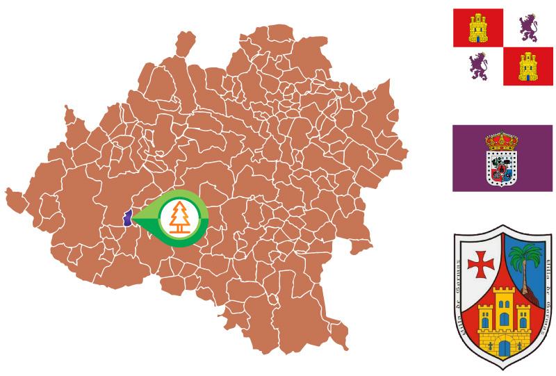 Gormaz Mapa