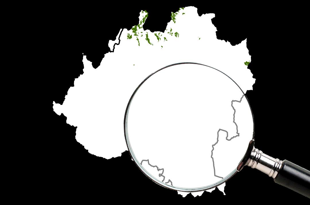Hayedos y Robledales mapa en Soria