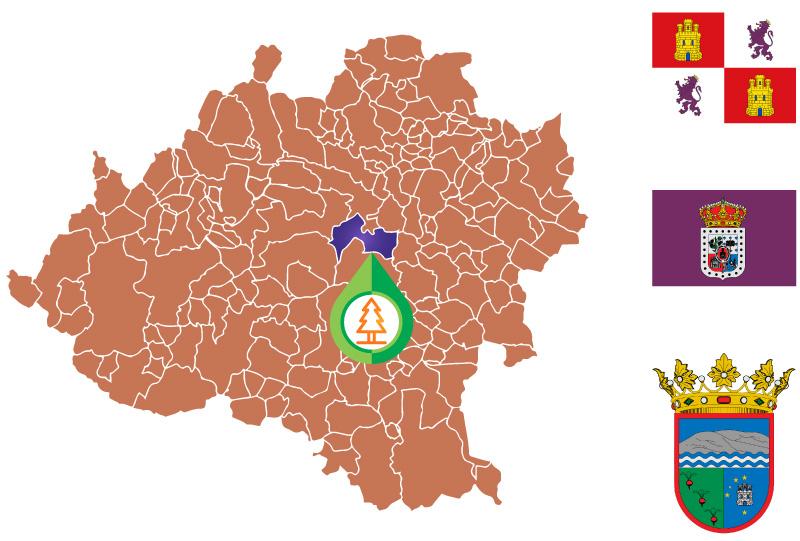 Los Rábanos Mapa