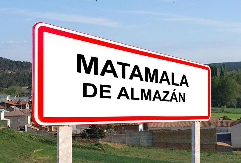 Matamala de Almazán señal