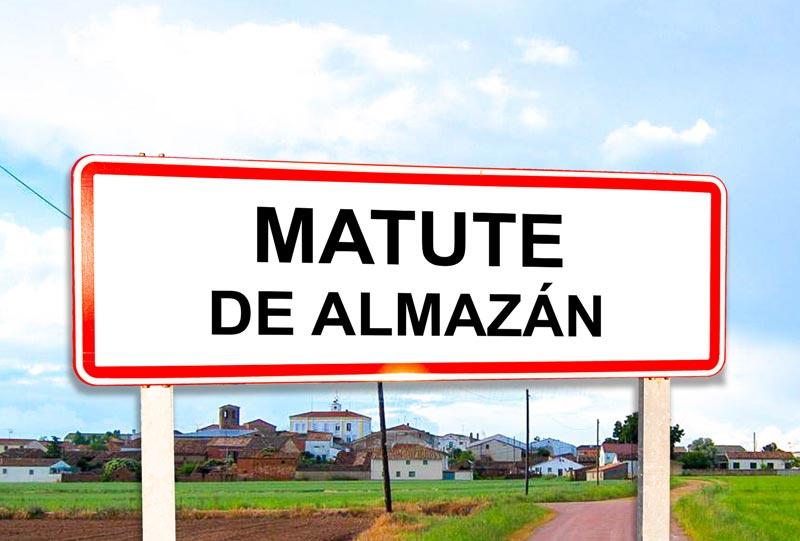 Matute de Almazán señal