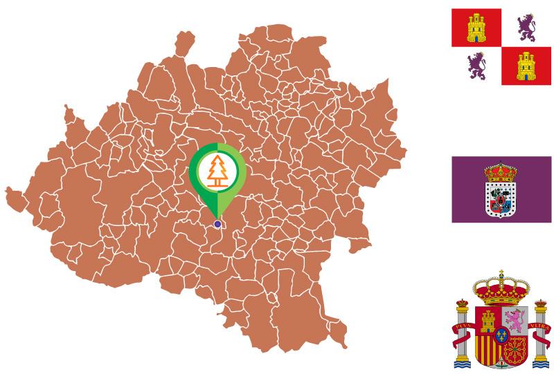 Matute de Almazán Mapa
