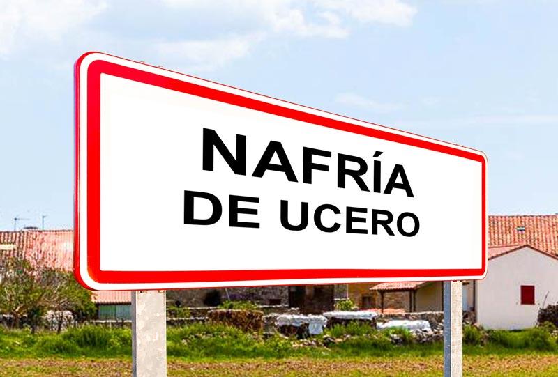 Nafría de Ucero señal