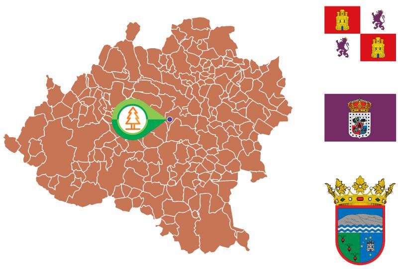 Navalcaballo Mapa