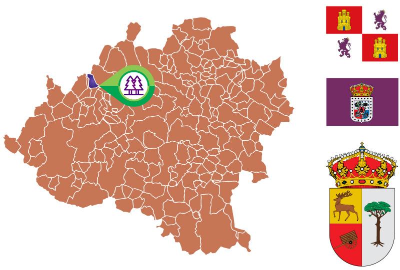 Navaleno Mapa