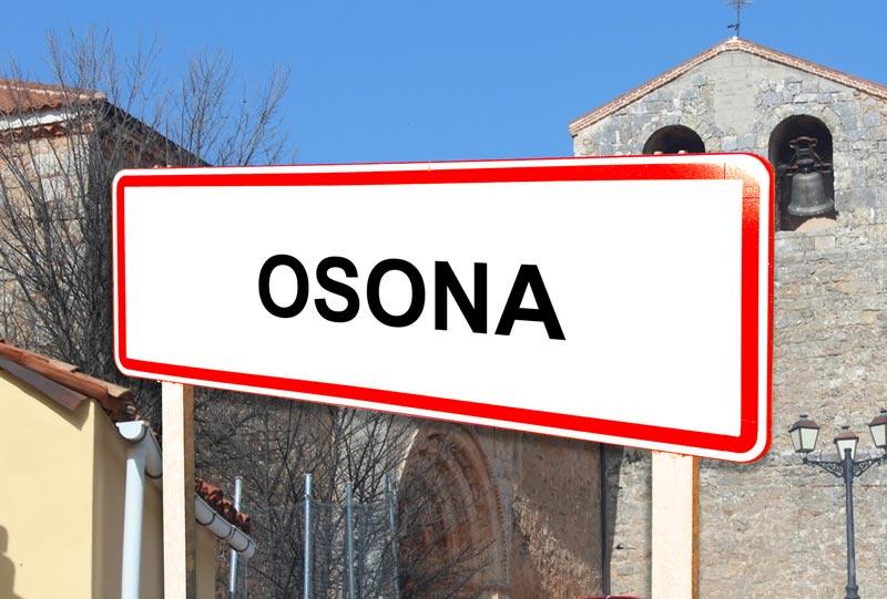 Osona señal