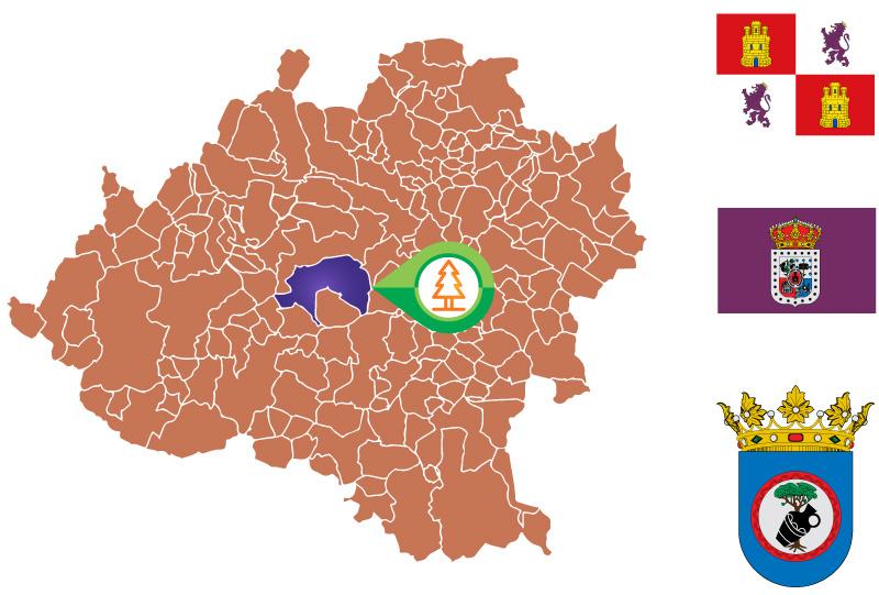 Quintana Redonda Mapa