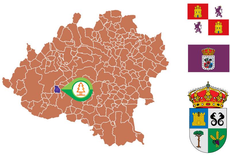 Quintanas de Gormaz Mapa