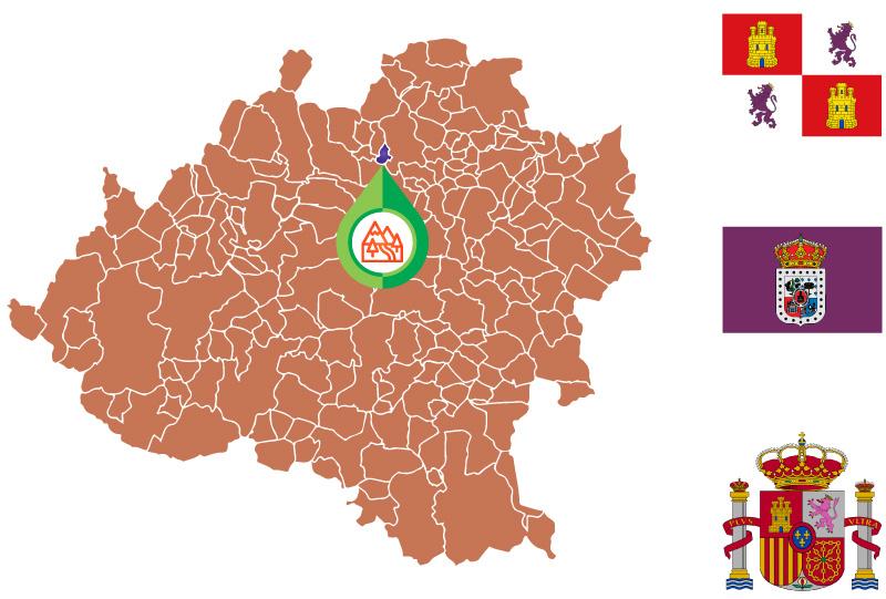 Rebollar Mapa