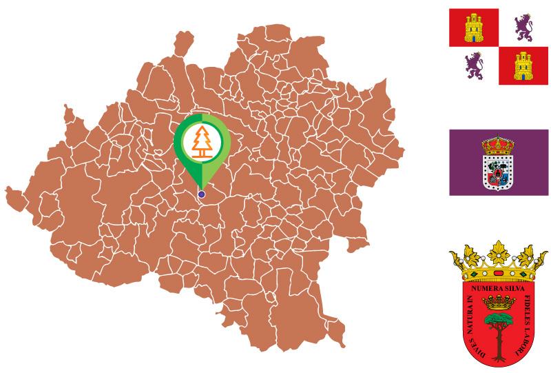 Cascajosa Mapa