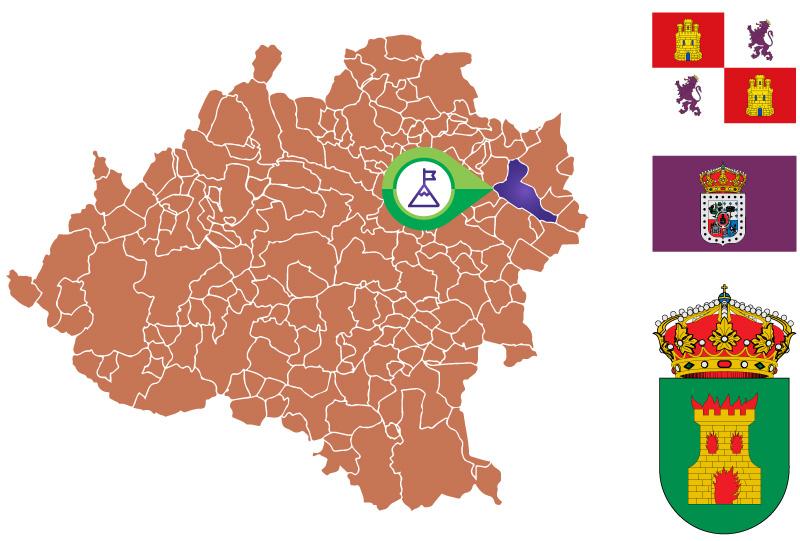 Ágreda Mapa