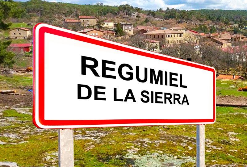 Regumiel de la Sierra señal