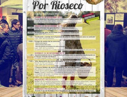 Jornadas Micológicas Rioseco de Soria 2019