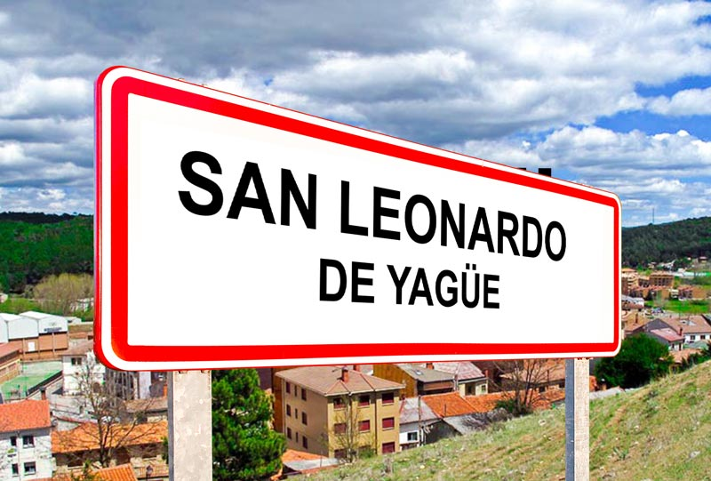 San Leonardo de Yague Señal