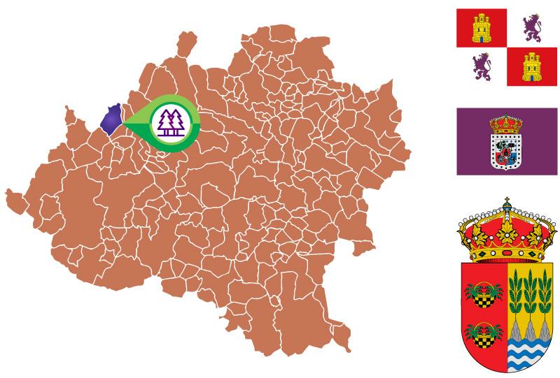 San Leonardo de Yague Mapa