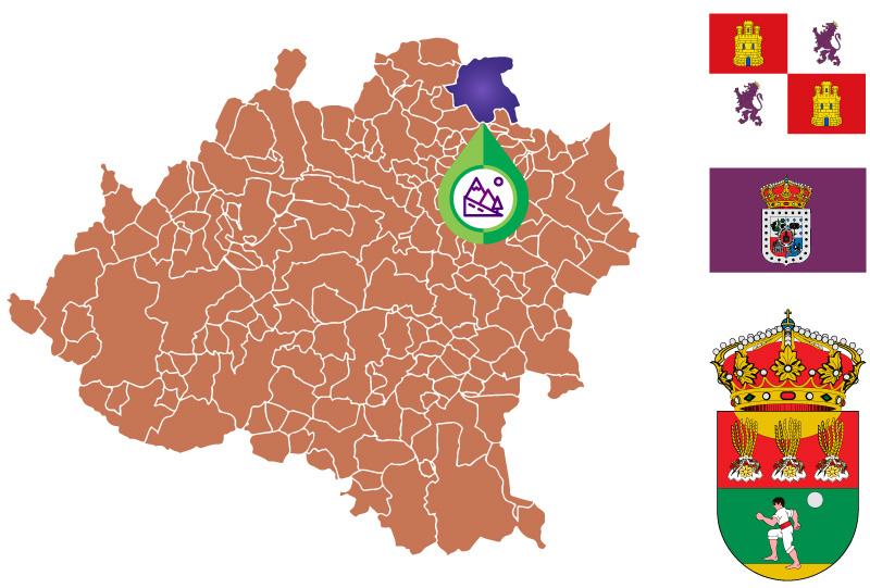 San Pedro Manrique Mapa