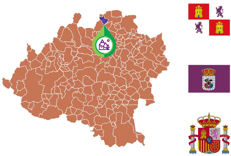 Santa Cruz de Yanguas Mapa