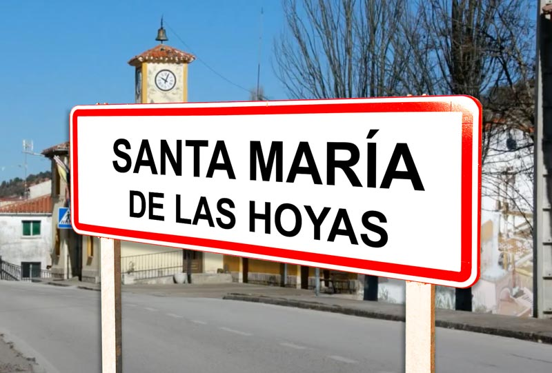 Santa María de las Hoyas señal