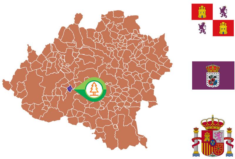 Tajueco Mapa