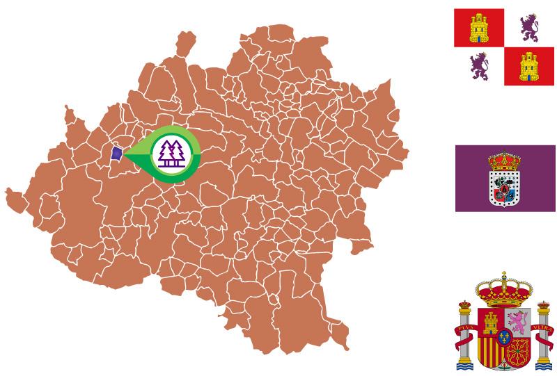 Ucero mapa