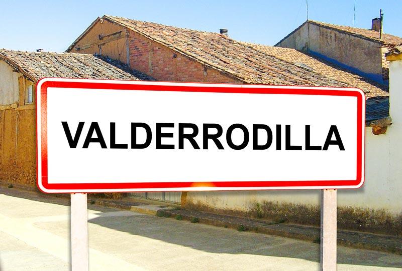 Valderrodilla señal