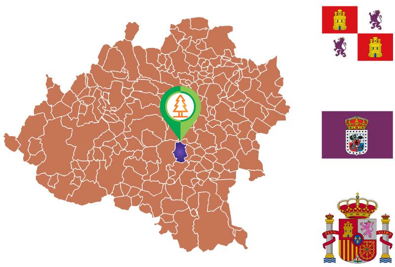 Viana de Duero Mapa
