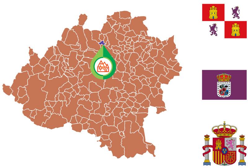 Villar del Ala Mapa