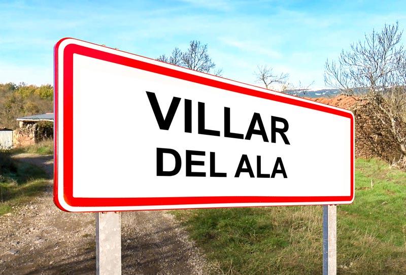 Villar del Ala señal