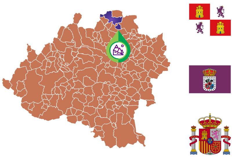 Villar del Río Mapa