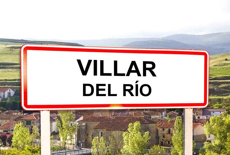Villar del Río señal