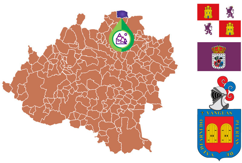 Yangüas Mapa