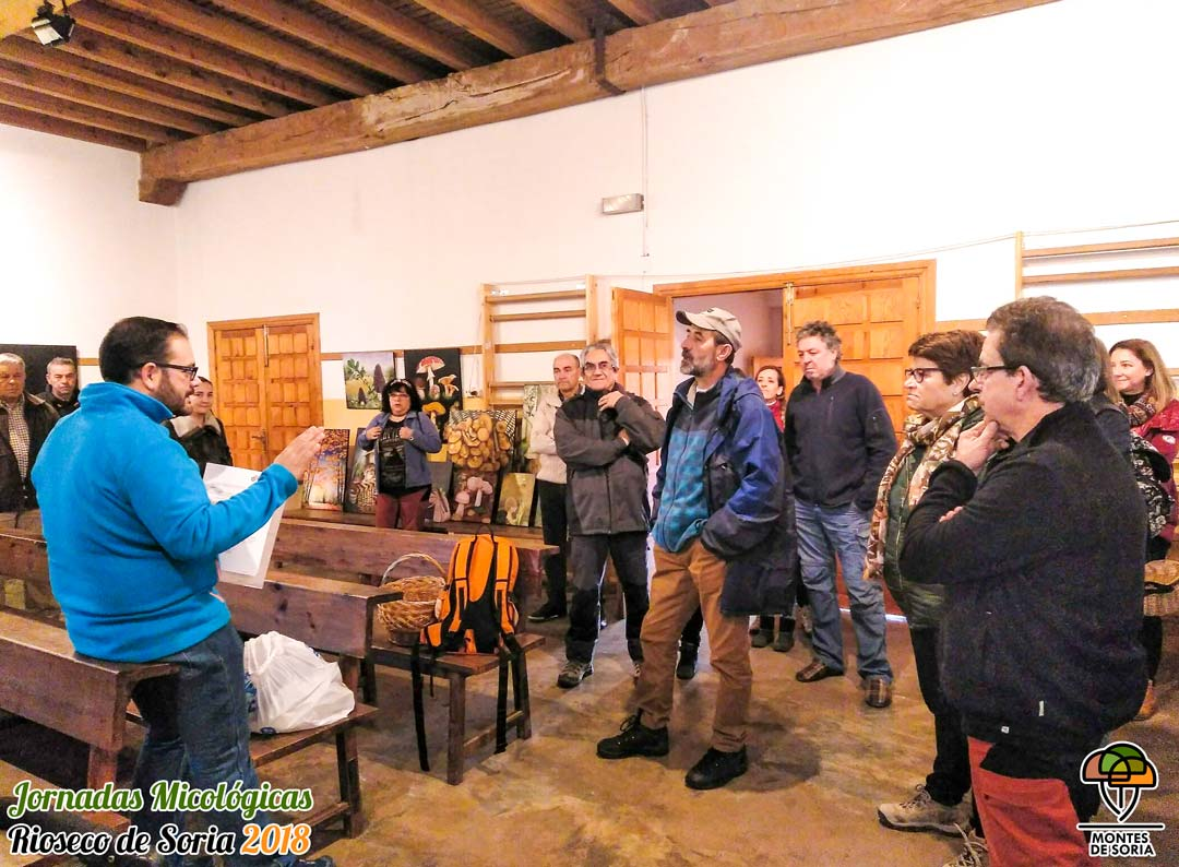 Jornadas Micológicas Rioseco de Soria 2018 charla